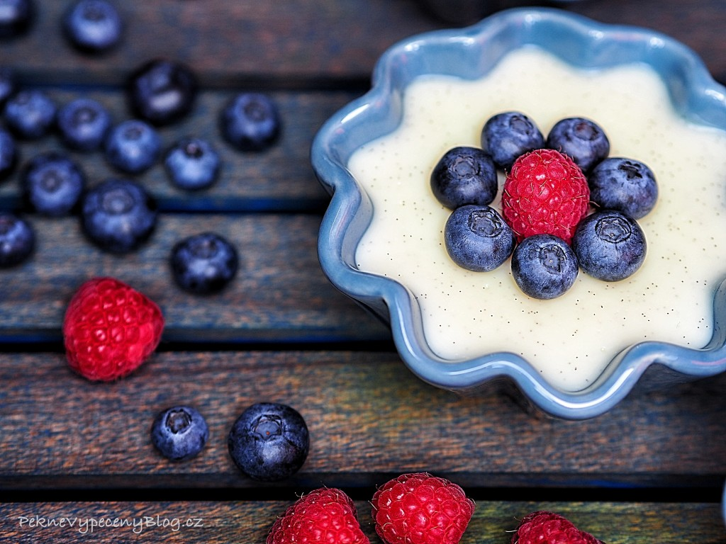 Vanilkový pudink
