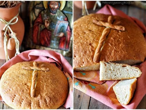 Balkánský bramborovo-špadlový chléb