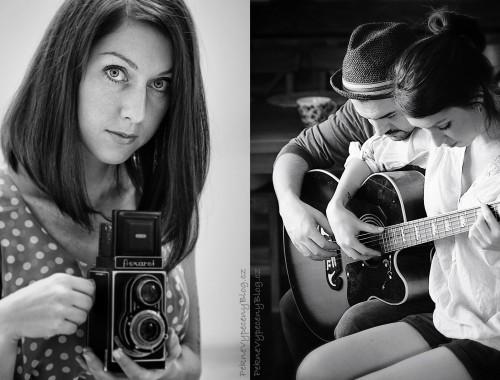 Lucie s muzikantem