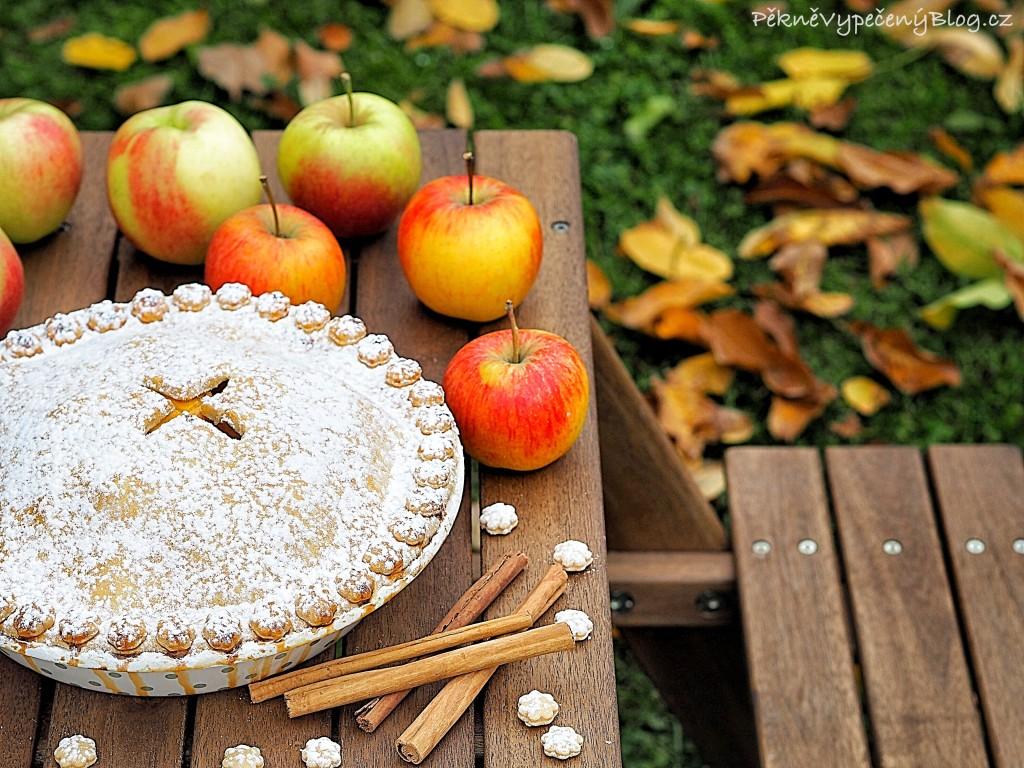 Jablečný koláč - Apple pie