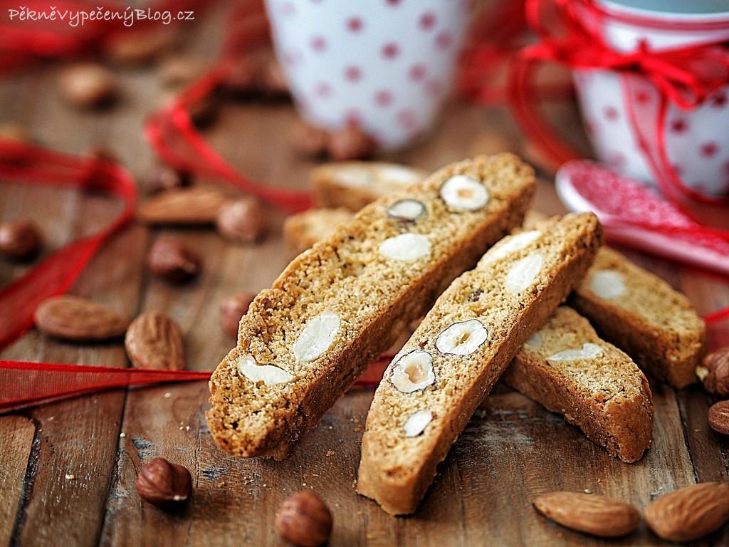 Biscotti ořechové