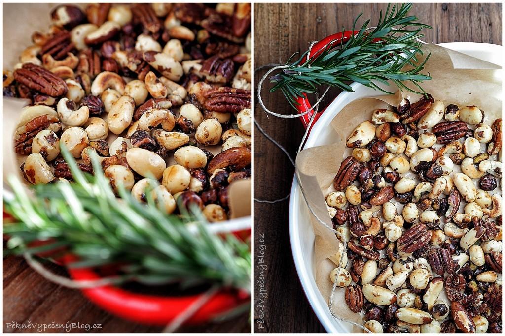 Kořeněné ořechy