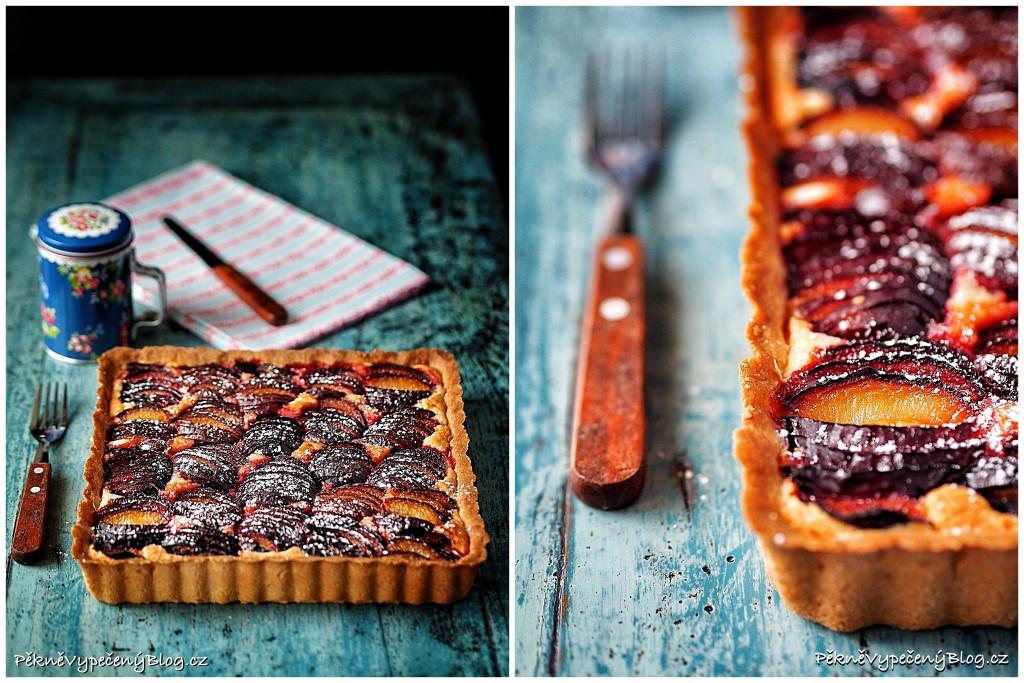 Mandlový koláč se švestkama (výběr)1