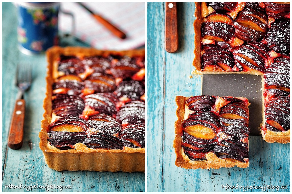 Mandlový koláč se švestkama (výběr)2