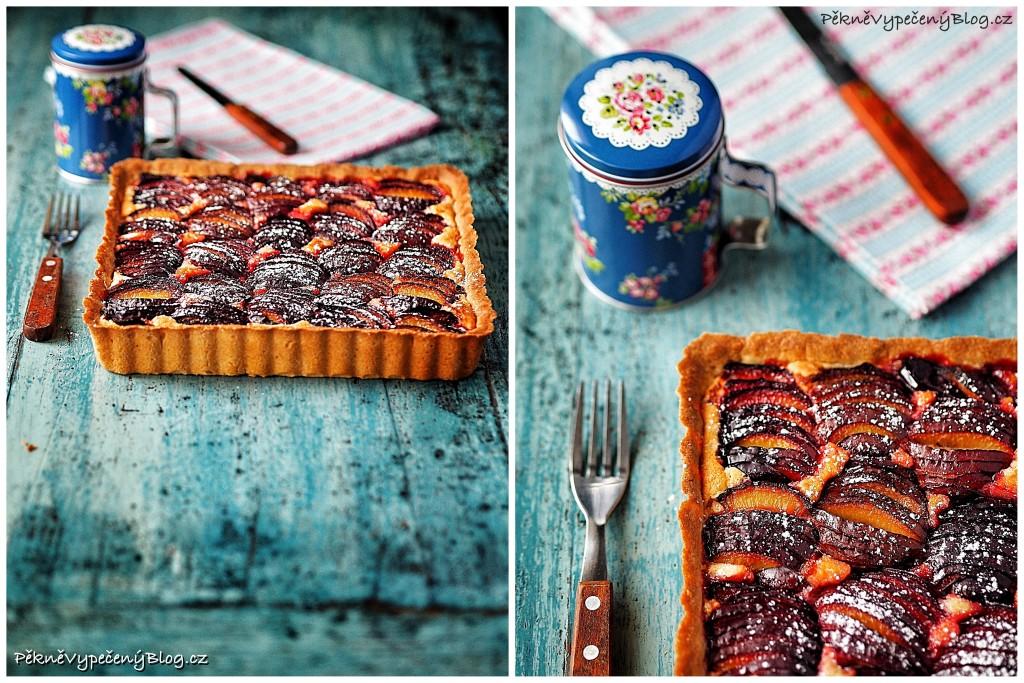 Mandlový koláč se švestkama (výběr)3