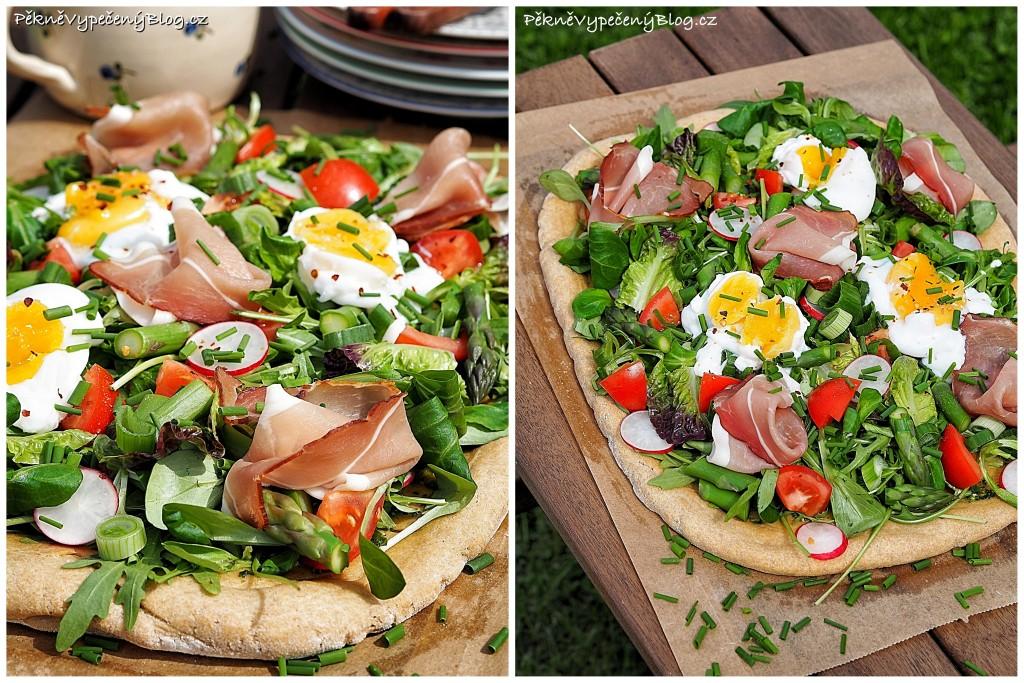Jarní zeleninový koláč