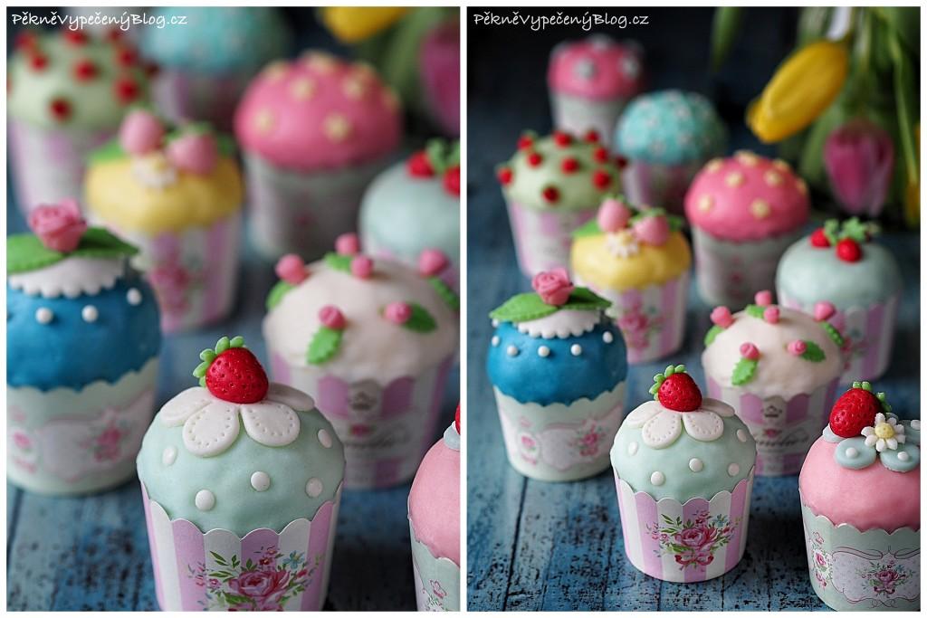 Cupcakes ve stylu Cath Kidston