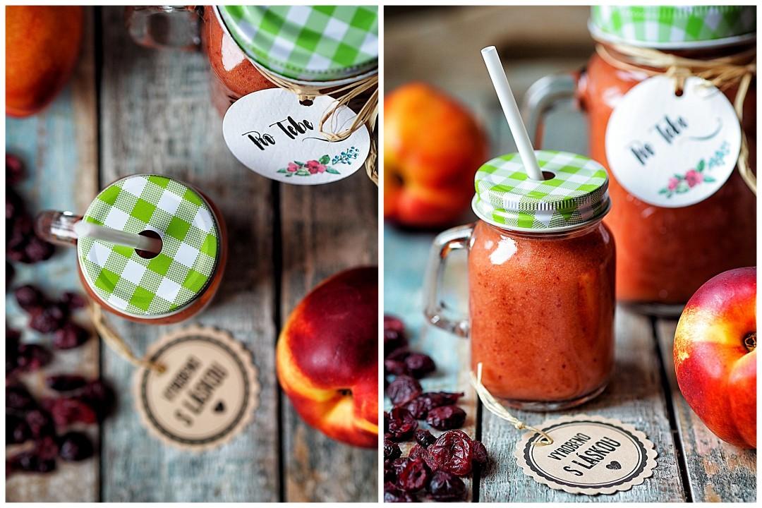 nekatrinkovo-jahodové smoothie