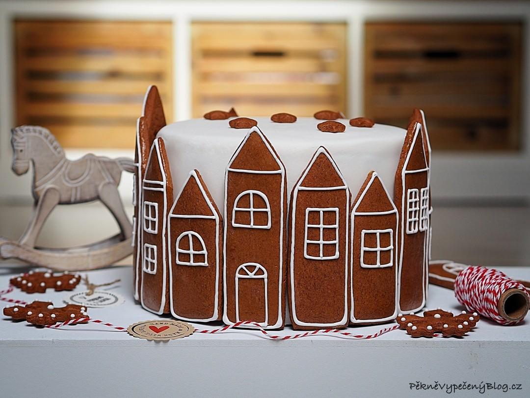 Perníkový dort