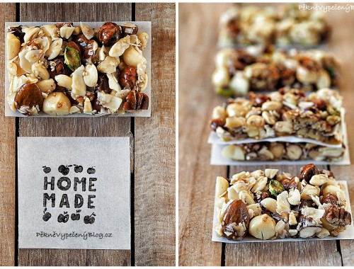 Pečené ořechy s medem
