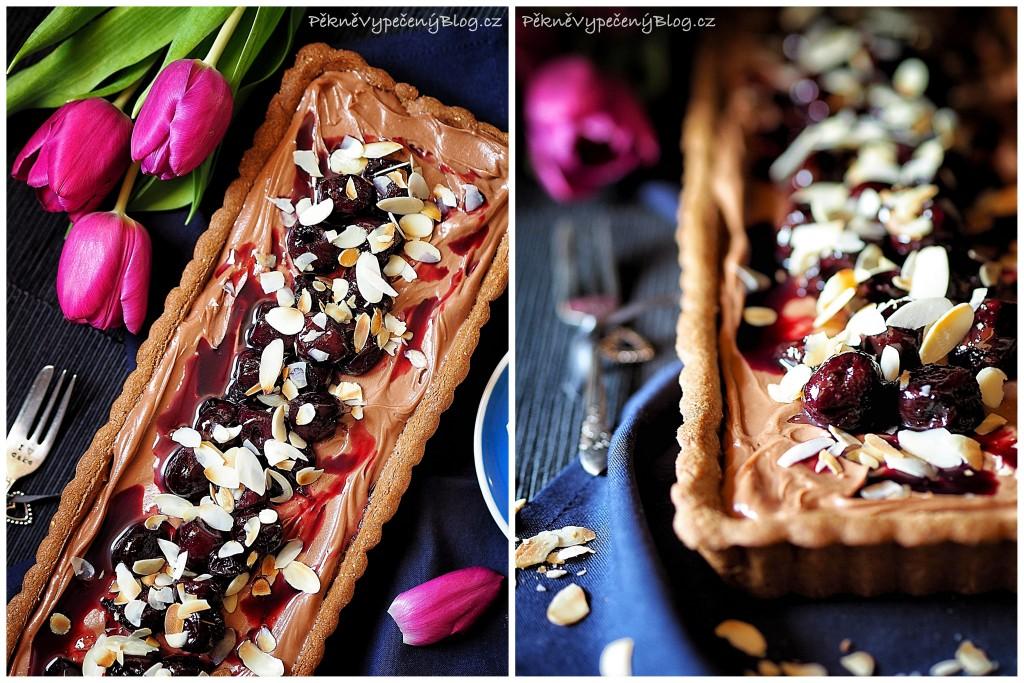 Čokoládový koláč s třešněma (výběr)1