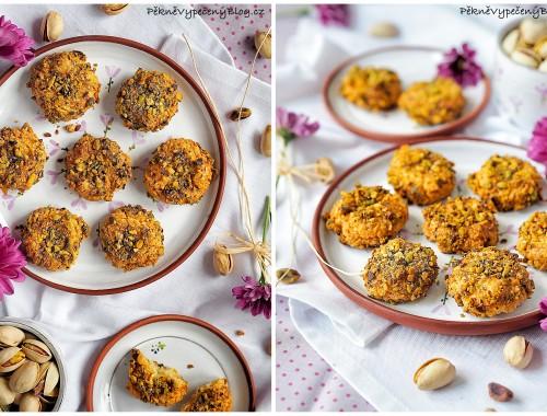 Špaldové sušenky s pistáciemi