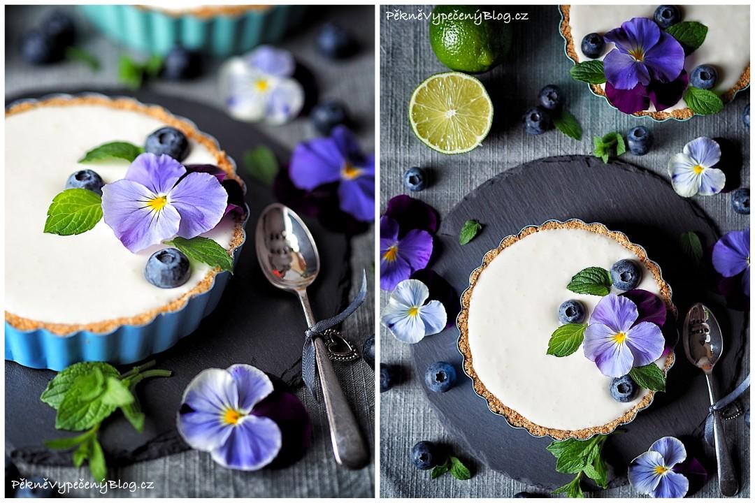 Tartaletky s limetkovým krémem