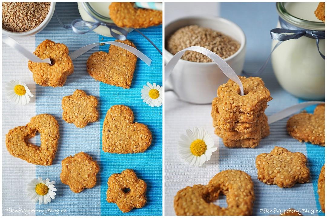 Sezamové sušenky