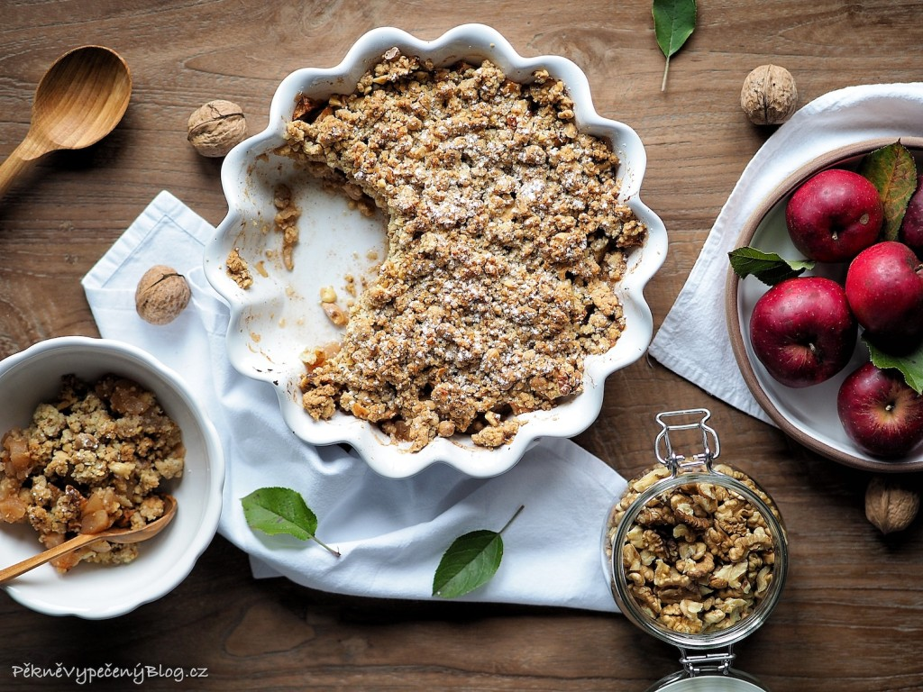 Crumble s jablky