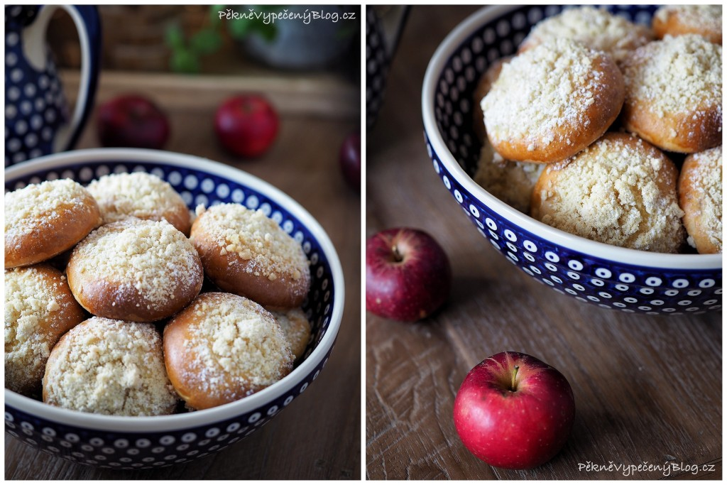 Kynuté koláče s jablky